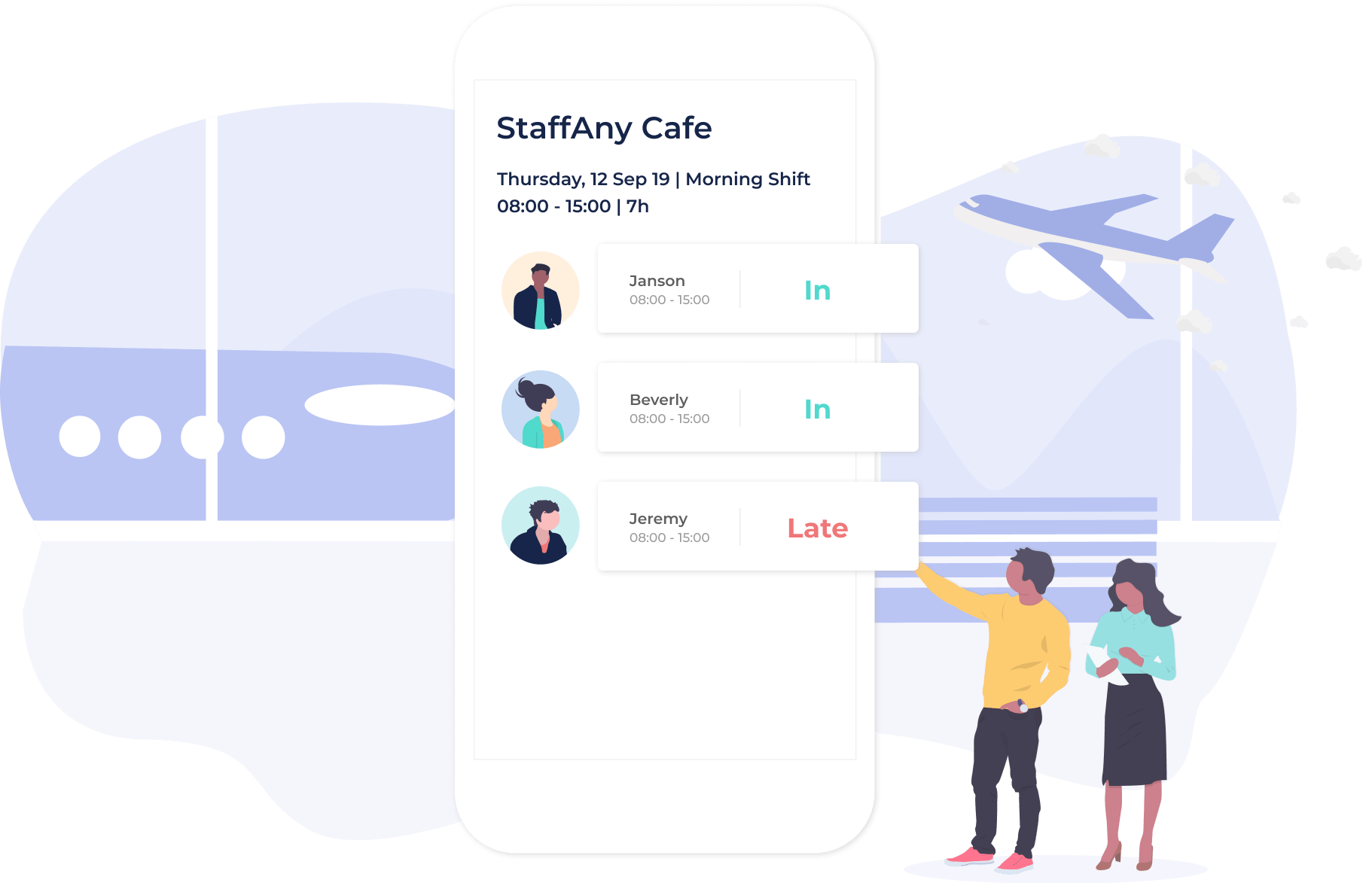 Connected Workforce, Feature – Connected Workforce