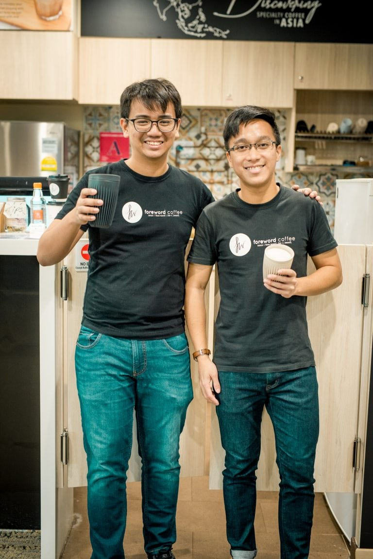 StaffAny x Foreword Co Founders Wei Jie Nadi