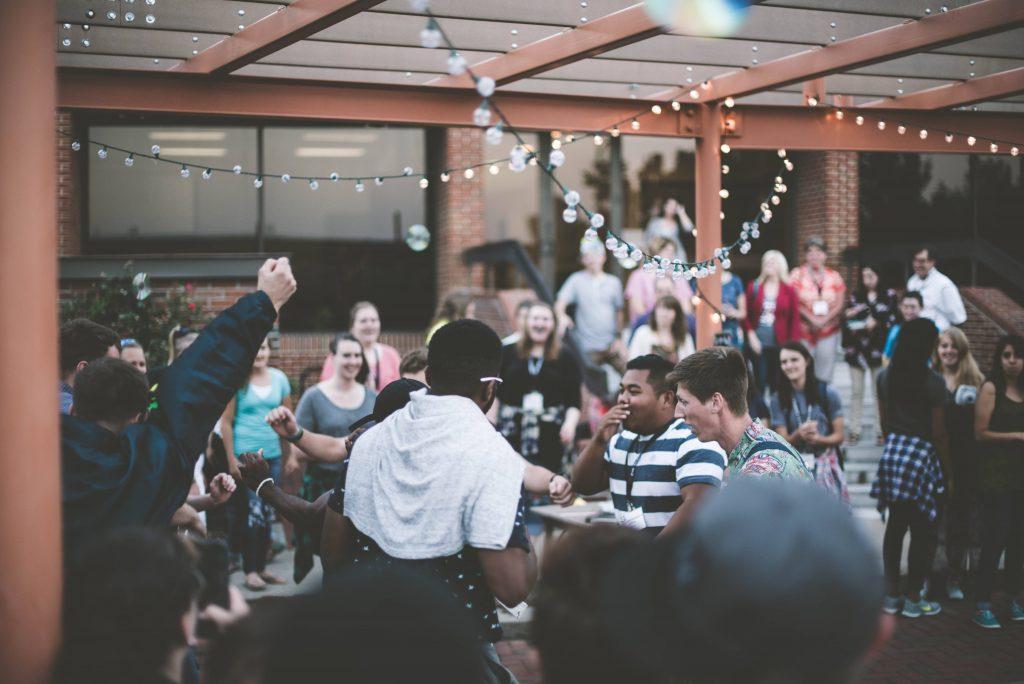 a company celebration