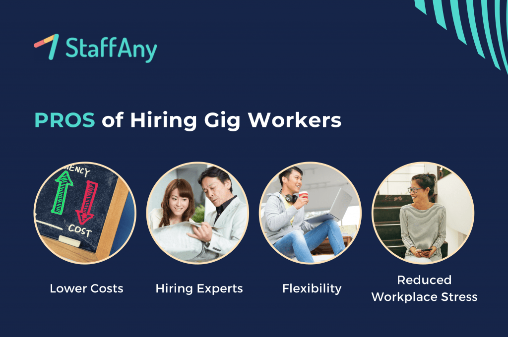 pros of hiring gig workers